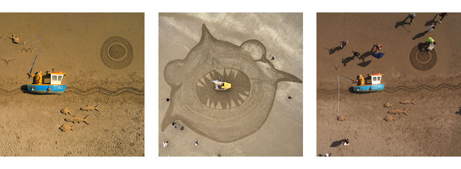 Animated Sand Drawing