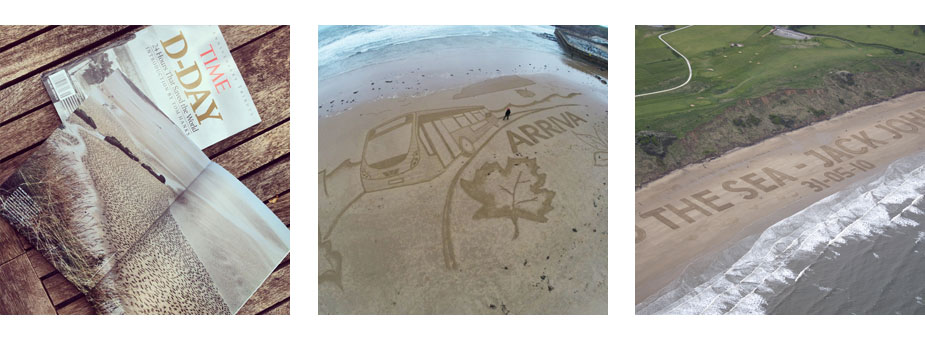 Giant Sand Drawings
