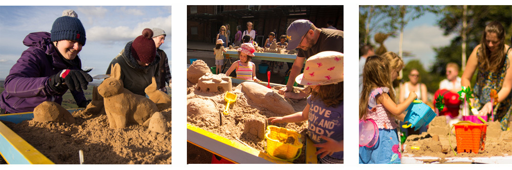 Pop Up Sand Sculpture Workshops