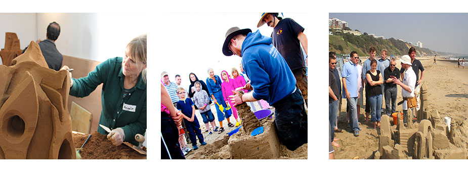 Sand Sculpture Workshops & Corporate Team Building