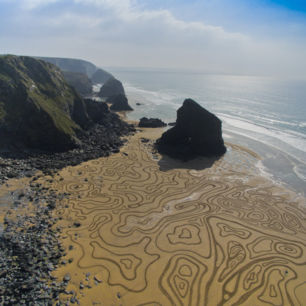 Ripples, Bedruthan Steps, Cornwall