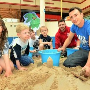 Keighley Sand Sculpture Workshop
