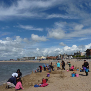 Beach Sand Sculpture Workshops, Morecambe