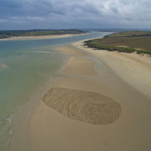 Thumb Print, Hawker's Cove, Cornwall
