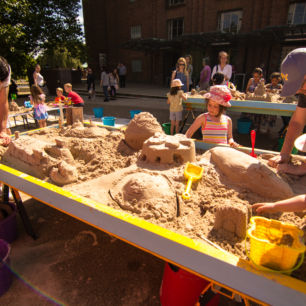 Rsc Sand Sculpture Workshop