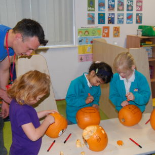School Pumpkin Carving Workshop