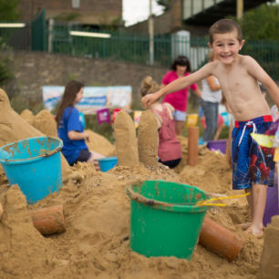 Beach Events Family Sand Sculpture Workshops