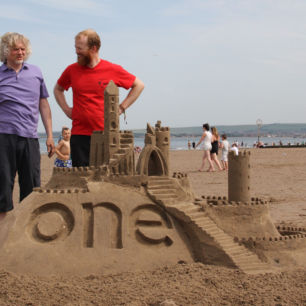 BBC Coast, How To Build A Sandcastle, Portabello Beach, Scotland