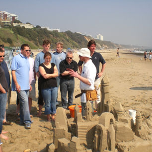 Sand Sculpture Workshops, Team Building