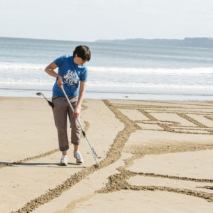 Sand Drawing, Scarborough