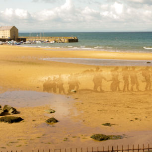 Sand Drawing Somme Sand In Your Eye East Neuk Festival