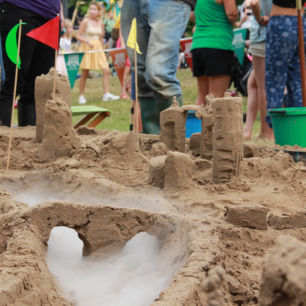 Met Office, Sand Sculpture Workshops, Green Man Festival