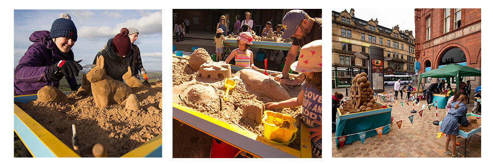 urban sand sculpture workshops