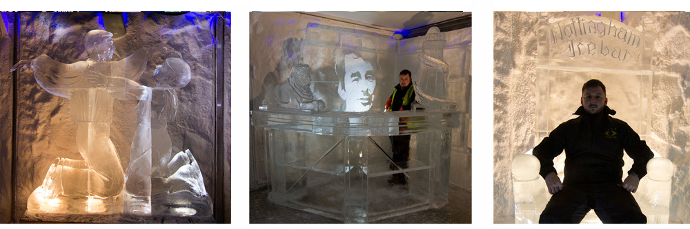 Ice Bars and Exhibitions